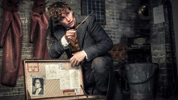 Eddie Redmayne in 'Fantastic Beasts: The Crimes of Grindelwald.' (Jaap Buitendijk/Warner Bros. Pictures via AP)