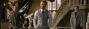 Jude Law in a scene from 'Fantastic Beasts'