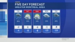 montreal forecast Nov. 16, 2018