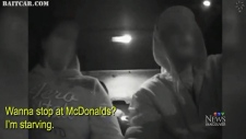 Police move-in on car thief's
