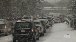 Wintry weather snarls traffic, closes schools