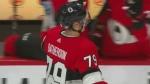 Drake Batherson scores first NHL goal