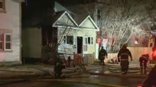 Crews were called to the scene on Selkirk Ave. near Parr St. shortly before 8:30 p.m. Thursday.