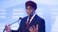 Sajjan at Security Forum in Halifax