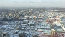 Stantec Tower 60th floor view