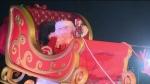 Santa's new sleigh unveiled