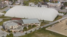 The Sudbury French Catholic School Board has reaffirmed its commitment to the partnership to build a sports dome.