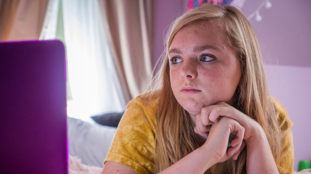 A scene from 'Eighth Grade'
