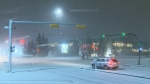 Poor weather knocks out power in parts of the city