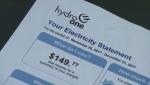 Hydro bill
