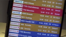 Inclement weather and closed runway have thrown a wrench into air traffic in Halifax.