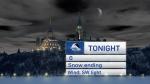 Snow ends, colder temps return
