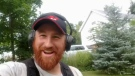 """Red Beard Relic Hunter"" is pictured in one of his YouTube videos."