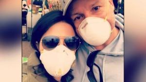 B.C. couple helping California fire evacuees