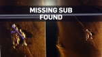 Missing submarine found one year later