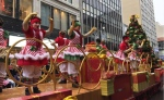 It was a holly-jolly time on the downtown stretch of Sainte-Catherine St. for the annual Santa Claus Parade on November 17th, 2018. (Angela Mackenzie/CTV Montreal)