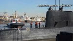 Missing Argentinian submarine located