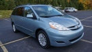 A Toyota Sienna minivan similar to this once was carjacked in Mississauga on Nov. 17, 2018, with a 96-year-old woman still inside. (PRP handout)