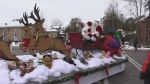 2018 Santa Claus parade in Ingersoll