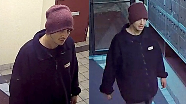 Vancouver police have released photos of a man, whom they're calling a person of interest, and seeking the public's help in identifying him. Supplied