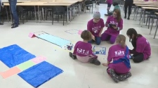 Girl Scouts at U of S sci-fi camp