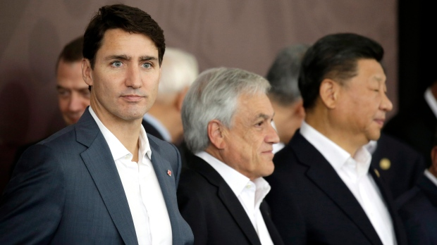 Trudeau at APEC