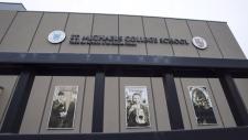 St. Michael's College School is shown in Toronto on November 15, 2018. THE CANADIAN PRESS/Frank Gunn