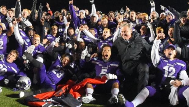 Western Mustangs win the Mitchell Bowl on Saturday, Nov. 17, 2018 (Twitter / @WesternMustangs)
