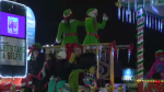 Cambridge Santa Claus parade was held on Saturday evening.