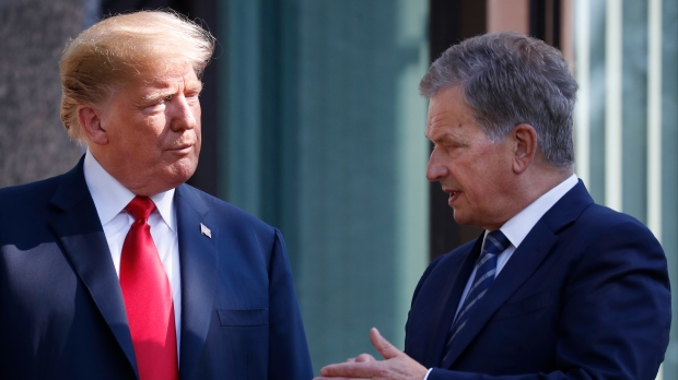 Trump's forest remarks 'rake news' for Finland