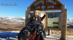 B.C. man Dana Meise in the Arctic Circle during his trek of Canada's Great Trail. (Dana Meise)