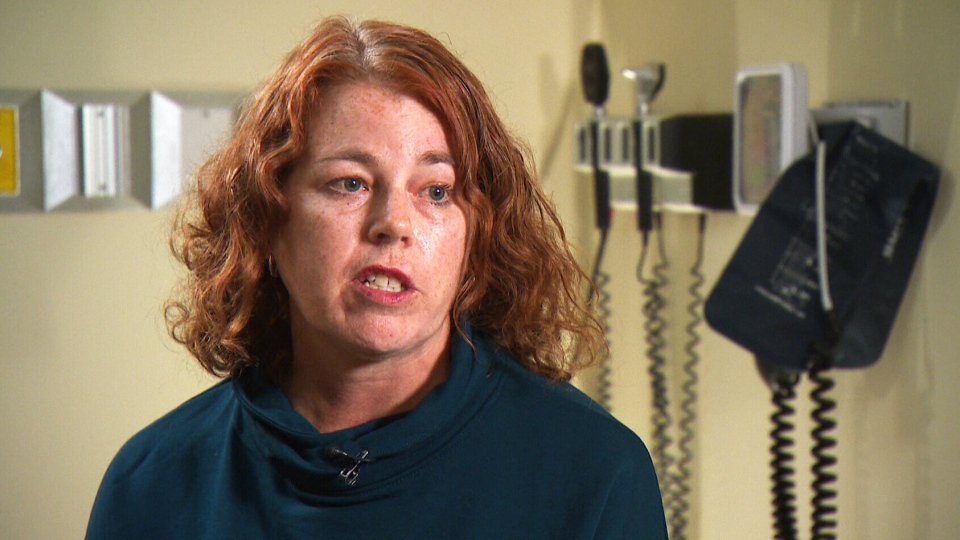 Nurse Shelly Johnson suffered an aortic dissection, a potentially-deadly condition that is often misdiagnosed.