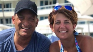 Michelle Prince is seen in an undated photo with her husband, former Windsor Mayor Eddie Francis.  (Facebook/Michelle Prince)