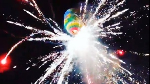 At least 9 injured after hot air balloon explodes