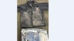 He was wearing a waist-length, dark blue vinyl windbreaker with a Canadian Utility Construction patch on it. (Source: Winnipeg Police Service)