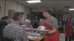 Elmira Legion making breakfast to help others