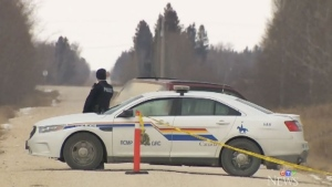 Woman shot while inside vehicle near Gimli