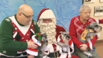Pets pose for pics with Santa