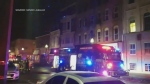 A fire broke out at a second floor apartment building in downtown Brantford Sunday evening due to careless smoking.