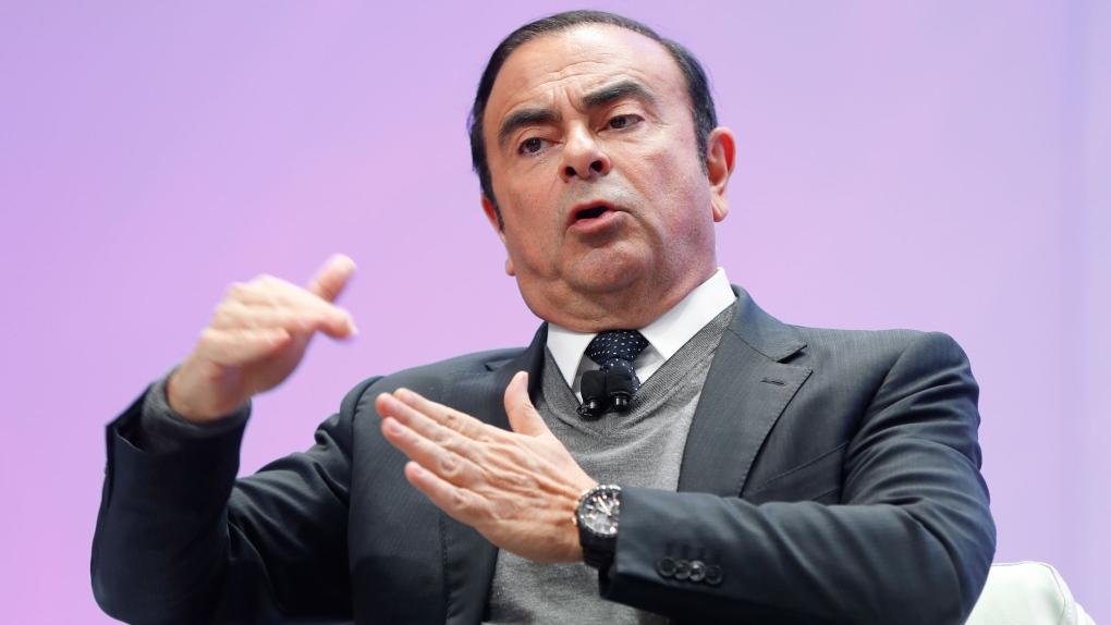 Carlos Ghosn in 2017