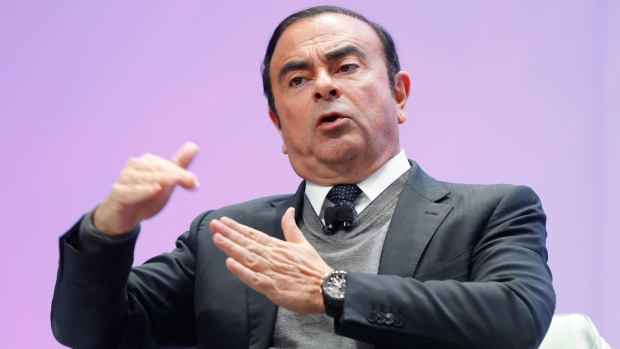 Carlos Ghosn in 2017