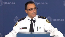 Toronto police officials provide update