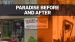 Paradise: Before and after the wildfire