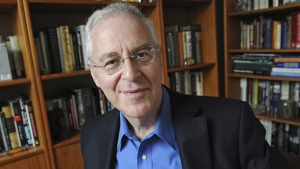 Ron Chernow at his home in the Brooklyn borough of New York, on April 18, 2011. (Louis Lanzano / AP)