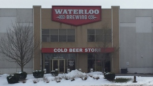 Waterloo Brewing storefront