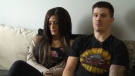 Ashley Thengs, left, and Rhys Herle, who plan to tie the knot on Dec. 3, and their guests have paid tens of thousands of dollars for flights and accommodation, but face huge uncertainty after their travel agent stopped returning their calls. (CTV Edmonton)