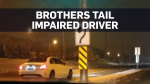 Ontario brothers film alleged impaired driver