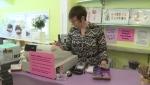 Kara Zimmerman rings through a customer at Groovy Mama