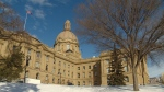 Alberta legislature winter