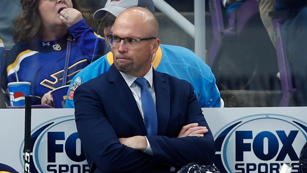 Blues head coach Mike Yeo relieved of duties
